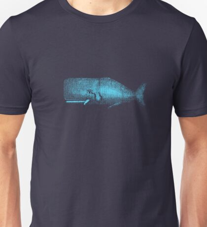 MOBY THE WHALE Unisex T-Shirt