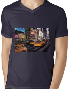 Being Yellow Mens V-Neck T-Shirt
