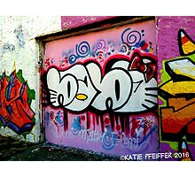 Graffiti Wall, West Philly, September 2013 Redux Photographic Print