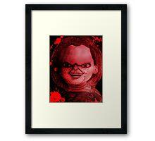 Scary Slasher  Doll Framed Print