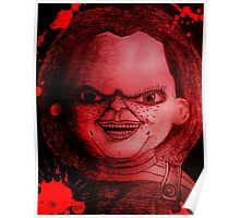 Scary Slasher  Doll Poster