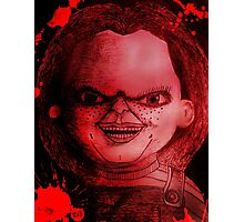 Scary Slasher  Doll Photographic Print