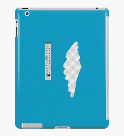 Graphic Designer (fake erase) iPad Case/Skin