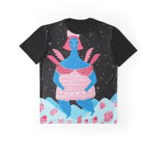 Merry Christmas! - 1, Angel above the village Graphic T-Shirt