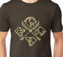 minimal Hogwarts Unisex T-Shirt
