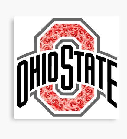 OSU Tie Dye Logo Canvas Print