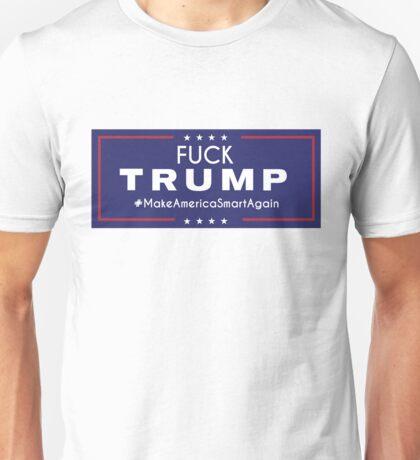 Fuck Trump merchandise Unisex T-Shirt