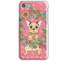Cute puppy. French bulldog. My lovely.  iPhone Case/Skin