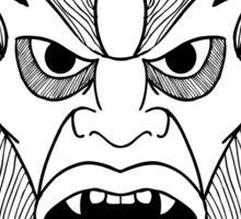 Beastman Sticker