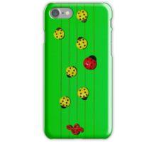 Ladybugs as Music iPhone Case/Skin