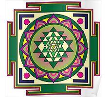 Sri Yantra Mandala Poster