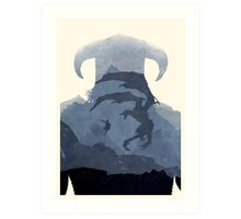 [Exclusive] Skyrim II (No Text) Art Print