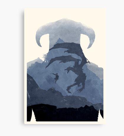 Skyrim II (No Text) Canvas Print