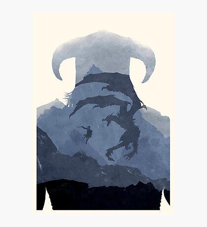 Skyrim II (No Text) Photographic Print