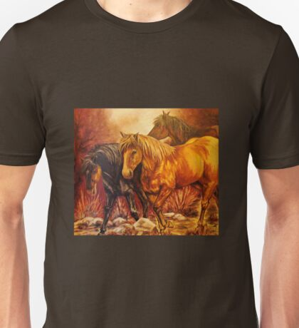 """Wild Ponies"" Unisex T-Shirt"
