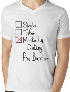 Mentally Dating Bo Burnham Mens V-Neck T-Shirt