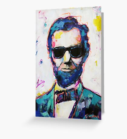 Cool Lincoln Greeting Card
