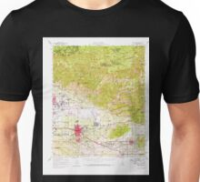 USGS TOPO Map California CA Redlands 298752 1954 62500 geo Unisex T-Shirt