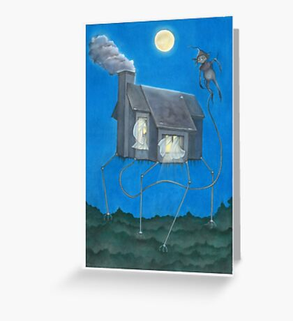 The Monsters Always Follow (but they're really not that scary) Greeting Card