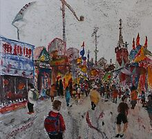Ekka Side Show Alley no2 by Howard Sparks