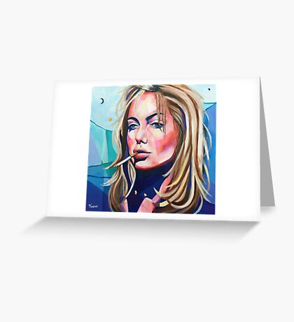 Angelina Greeting Card