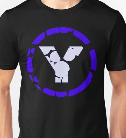 prYda blue lightblue Unisex T-Shirt
