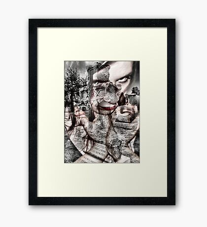 this is the end Framed Print