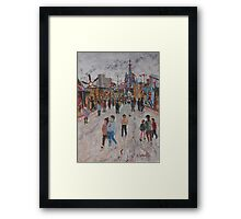 Ekka Side Show Alley no3 Framed Print