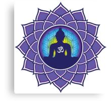 Om Meditation Canvas Print