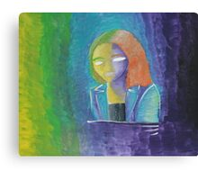 Energetic Portrait Canvas Print