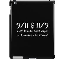 9-11 11-9 Coincidence iPad Case/Skin
