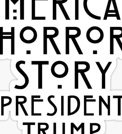 Real Life Horror Story Sticker