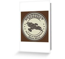 Firefly Browncoats Express Greeting Card
