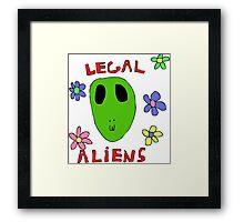 Legal Aliens Framed Print