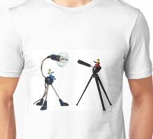 Mounted Toy Figurines arguing over Parking Space  Unisex T-Shirt