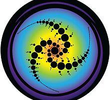 Triple Spiral Crop Circle by GalacticMantra