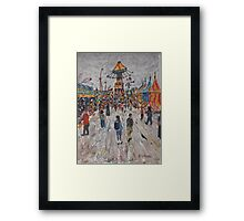 Ekka  Side Show Alley no5 Framed Print