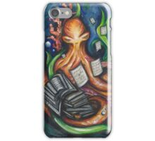 Library Octopus  iPhone Case/Skin