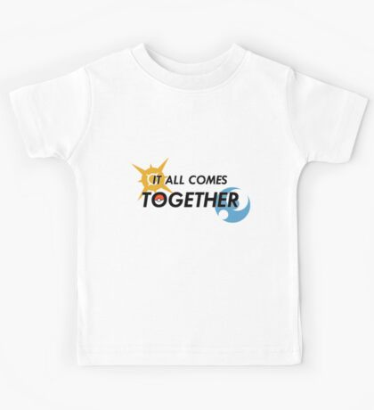 IT ALL COMES TOGETHER | Pokémon Sun and Moon Kids Tee