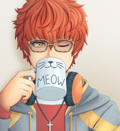 Mystic Messenger - Catface Sticker