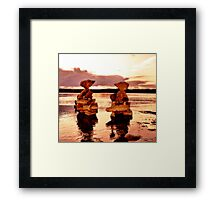 Destined To Repeat Framed Print