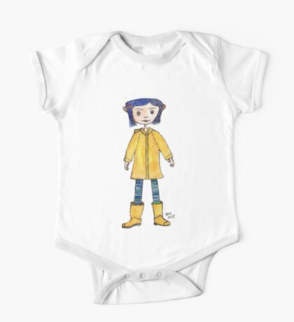 Girl in a Raincoat One Piece - Short Sleeve