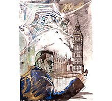 Sherlock: Jim Moriarty Photographic Print