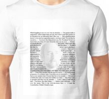 West Wing - Toby Ziegler Unisex T-Shirt