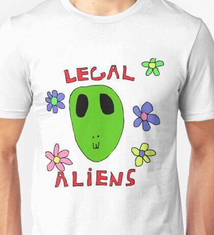 Legal Aliens Unisex T-Shirt