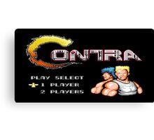 Contra - NES Canvas Print