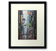Spain Series 03 Barcelona Framed Print