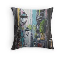 Spain Series 03 Barcelona Throw Pillow