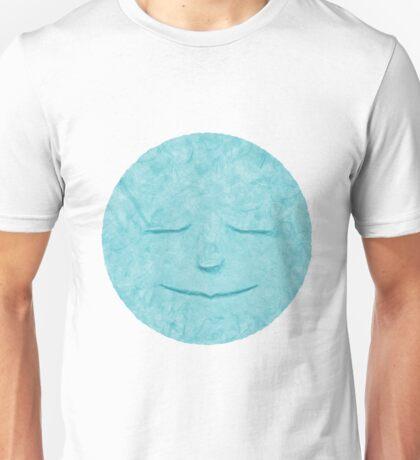 Blue Paper Moon Unisex T-Shirt