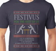 Festivus To Do List - Ugly Christmas Shirt Unisex T-Shirt